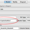Tip: MySQL Workbench Model Option Token Filters